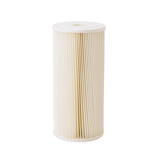OWF20, water filter, pleated 20 micron water filter